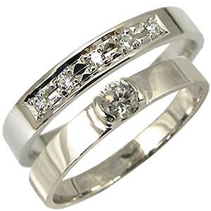 K18ゴールド・ペアリング・ダイヤモンド・結婚指輪・マリッジリング