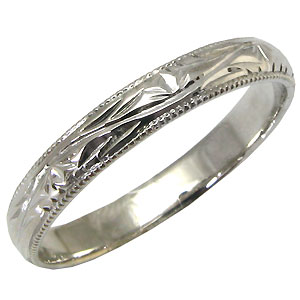 結婚指輪・シンプル・18金・甲丸リング・マリッジリング