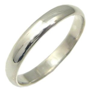結婚指輪・シンプル・プラチナ・甲丸リング・マリッジリング
