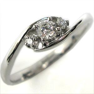 婚約指輪・ダイヤモンド・プラチナ・リング(指輪)・エンゲージリング