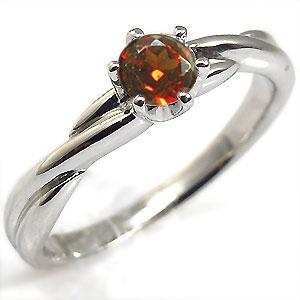 21日20時~ガーネット・K18ゴールド・リング・シンプル・指輪・一粒