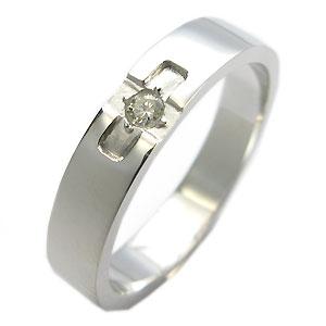 【10%OFFクーポン】5日23:59迄 クロスリング・k18ゴールド・ダイヤモンド・リング・結婚指輪