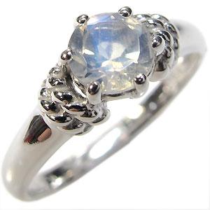 K18・ロイヤルブルームーンストーン・リング・大粒・婚約指輪・エンゲージリング
