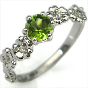 【10%OFF】4日20時~ K10・リング・ペリドット・大粒・エンゲージリング・婚約指輪