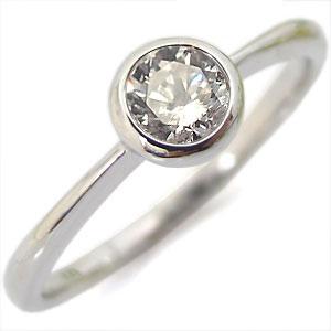 【10%OFF】4日20時~ ダイアモンド・リング・指輪・一粒・K10・ピンキーリング