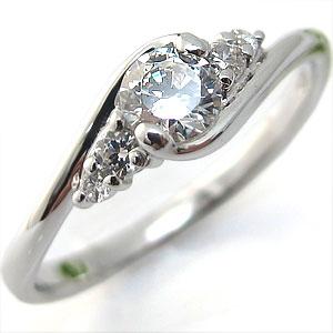 【10%OFFクーポン】5日23:59迄 ダイアモンド リング プラチナ 大粒 婚約指輪 エンゲージリング