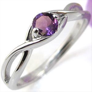 アメジスト・リング・K10・婚約指輪・大粒・指輪