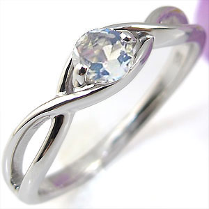 【10%OFFクーポン&P5倍】23日~K18・リング・ロイヤルブルームーンストーン・婚約指輪・大粒・エンゲージリング