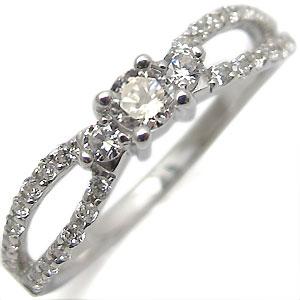 K18・リング・アンティーク・ダイアモンド・指輪