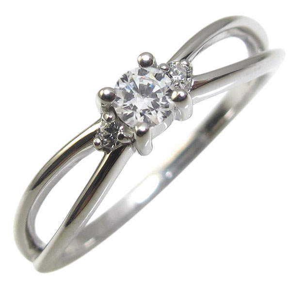 【10%OFF】4日20時~ プラチナ・ダイヤモンド・リング・一粒・ダイアモンドリング・指輪