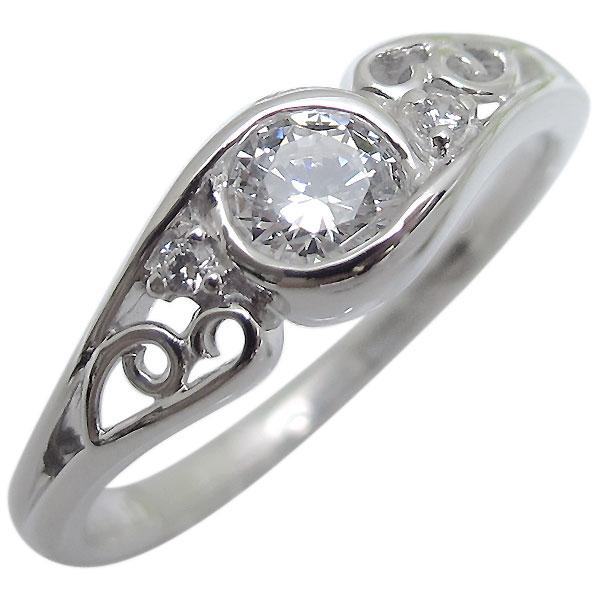 指輪・ダイヤモンド・一粒・アンティーク・プラチナ・リング