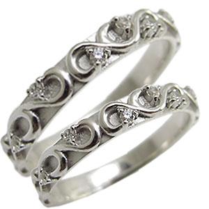 天然ダイヤモンド・ペアリング・K10ゴールド・結婚指輪・マリッジリング