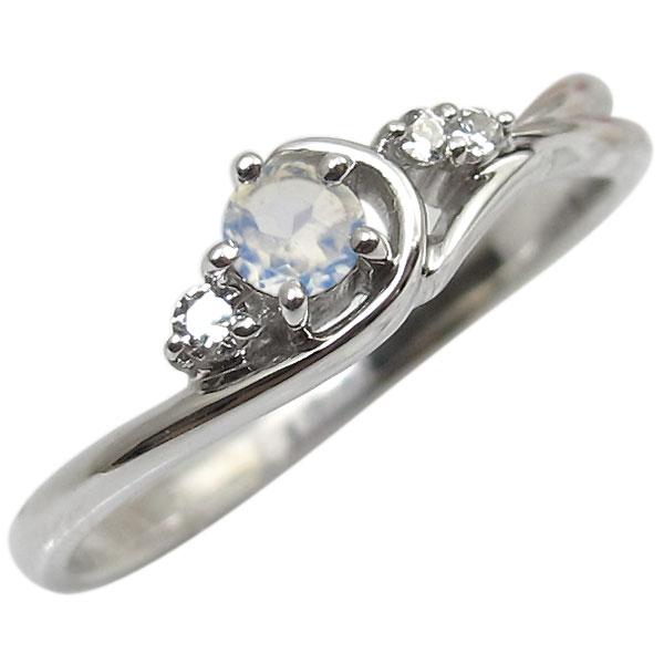 ロイヤルブルームーンストーン・リング・K10・一粒・10金・指輪