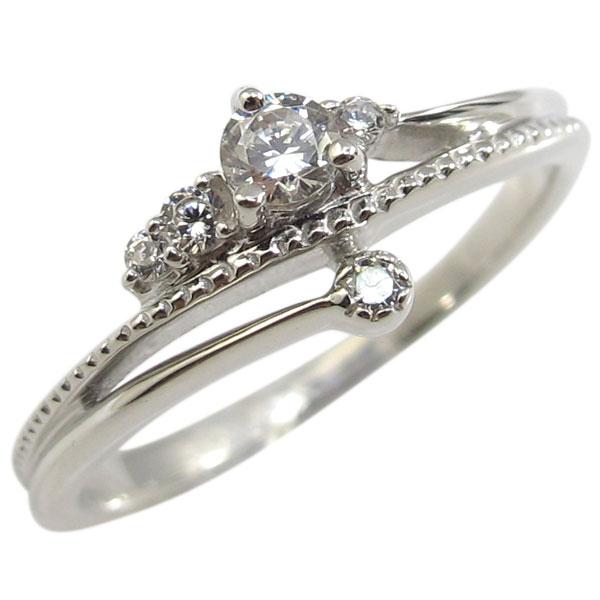 【10%OFF】4日20時~ 指輪・ダイヤモンド・リング・10金・一粒・ダイアモンドリング