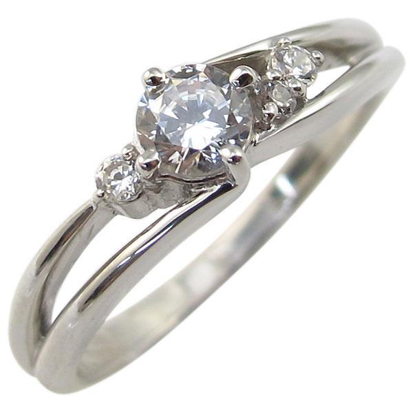 23日20時~ ダイヤモンドリング・シンプル・一粒・リング・プラチナ・指輪