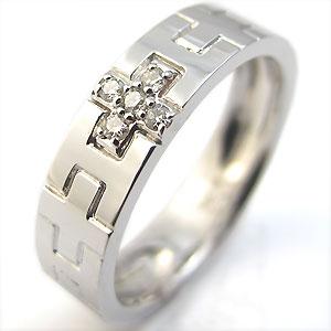 30日迄 ダイヤモンド・結婚指輪・クロス・ピンキーリング・プラチナ・リング・ペアリング