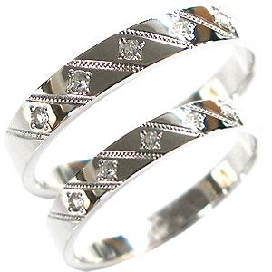 プラチナ・ペアリング・ダイヤモンド・マリッジリング・結婚指輪