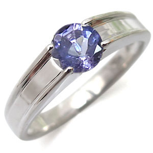 【10%OFF】4日20時~ タンザナイト・リング・一粒・k10・タンザナイトリング・指輪