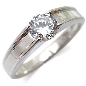 【10%OFFクーポン】5日23:59迄 指輪・ダイヤモンドリング・一粒・シンプル・18金・リング