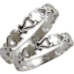 結婚指輪・ペアリング・マリッジリング・K10・クロス・リング
