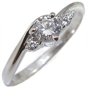 ダイヤモンドリング・K18・一粒・指輪・ダイアモンド・リング
