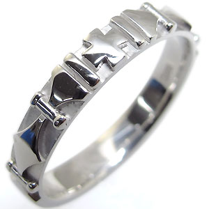 メンズ・リング・指輪・K10・クロスリング・10金・メンズリング