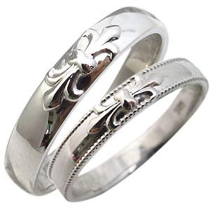 9/11 1:59迄マリッジリング・10金・リング・ペアリング・結婚指輪・百合の紋章・マリッジリング