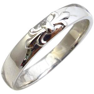 9/11 1:59迄メンズリング・百合の紋章・指輪・メンズ・リング・K18