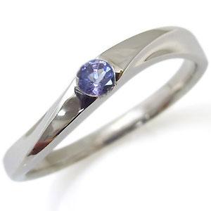9日20時~ タンザナイト・リング・一粒・10金・指輪