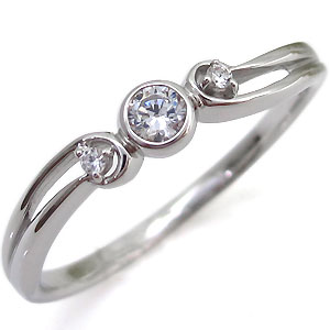【10%OFFクーポン&P5倍】23日~ダイヤモンド・シンプル・リング・一粒・K18・指輪