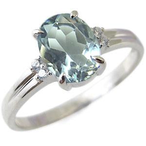 【10%OFF】4日20時~ 大粒 アクアマリン リング 一粒 10金 指輪 3月誕生石