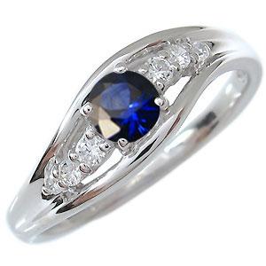 一粒 サファイア リング 18金 指輪 9月誕生石 特価 旅行 限定アイテム