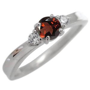 9日20時~ ガーネット エンゲージリング プラチナ エンゲージリング 一粒 婚約指輪