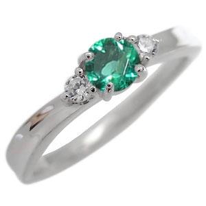 23日20時~ エメラルド・リング・一粒・リング・5月誕生石・10金・指輪