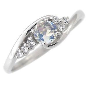 9日20時~ ロイヤルブルームーンストーン 婚約指輪 一粒 エンゲージリング 18金