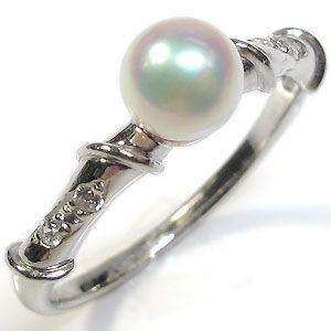 サイズ1号から選べるプラチナ製パールリング(本真珠5mm珠使用)10P06Aug16