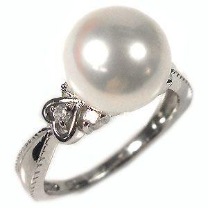 5/15限定 サイズ1号から選べる18金製パールリング(本真珠9mm珠使用)10P06Aug16