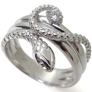 送料無料 スネーク ダイヤモンド メンズリング 10金 ヘビ 蛇 指輪 スネーク・ダイヤモンド・メンズリング・10金・ヘビ・蛇・指輪