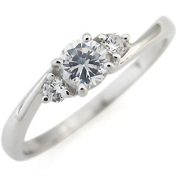 ダイヤモンド・リング・一粒・指輪・ダイヤモンドリング・4月誕生石・10金