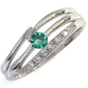 選べる誕生石・天然石・シンプルリング・指輪・10金・リング