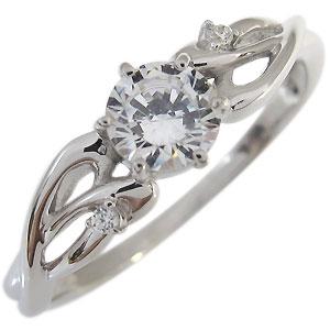 送料無料 無料 プラチナ エンゲージリング ダイヤモンド 0.5ct 大粒 リング 買物 婚約指輪
