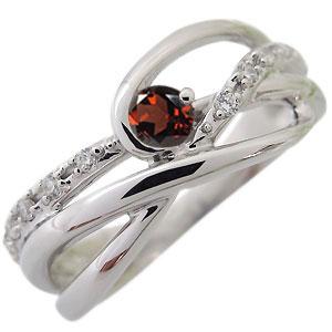選べる誕生石 シンプルリング 天然石 婚約指輪 18金