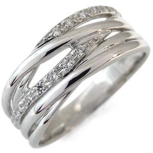 1日限定【10%OFFクーポン&P2倍】 ダイヤモンド リング K18 指輪 ダイヤモンドリング