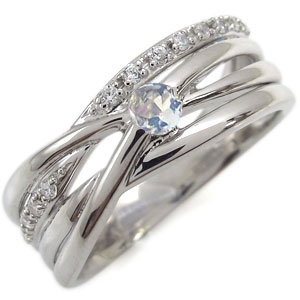 【10%OFF】4日20時~ 天然石リング・選べる誕生石・指輪・レディース・太め・リング・18金 母の日 プレゼント