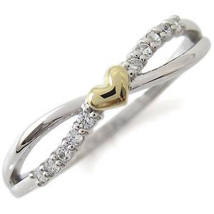 結婚10周年・ダイヤモンド・リング・ハート・指輪