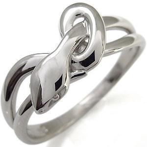 【10%OFF】4日20時~ スネーク リング ヘビ 蛇 指輪 18金