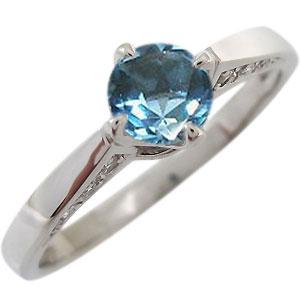 【10%OFF】4日20時~ ブルートパーズ・リング・11月誕生石・大粒・10金・指輪