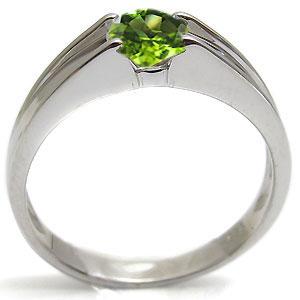 指輪・ペリドットリング・一粒・シンプル・18金・リングTK1JlcF