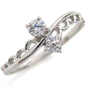 9/11 1:59迄一粒 ダイヤモンド 指輪 ダイヤモンドリング K18 ピンキーリング ファランジリング