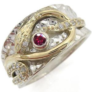 送料無料 スネークリング 天然石 指輪 10金 メンズ 蛇 スネークリング 天然石 指輪 10金 メンズ 蛇 リング
